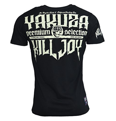 Yakuza Premium Herren Killjoy Cartel T-Shirt YPS - 2307 Black Black