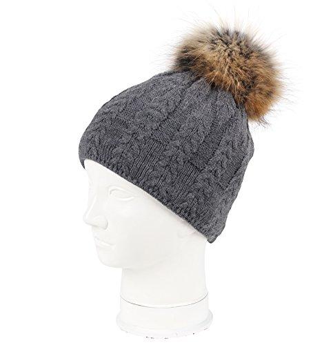 Karbaro - Ensemble bonnet, écharpe et gants - Femme Anthracite