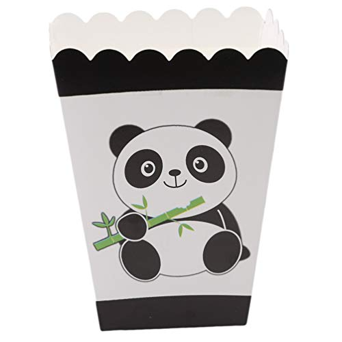 a Shaped Party Supply Cartoon Panda Papier Box Geburtstag Party Dekoration Lieferungen ()