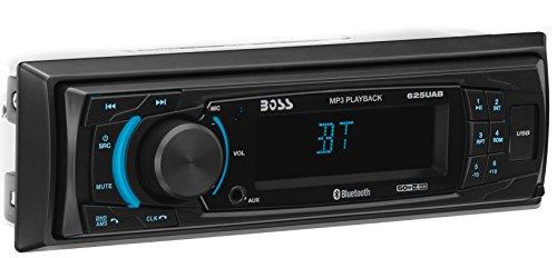 BOSS Audio Systems 625UAB 200W Bluetooth schwarz Multimedia Receiver KFZ--Empfänger Multimedia Kfz-(am, FM, Schwarz, MMC, SD, 200W, MP3)