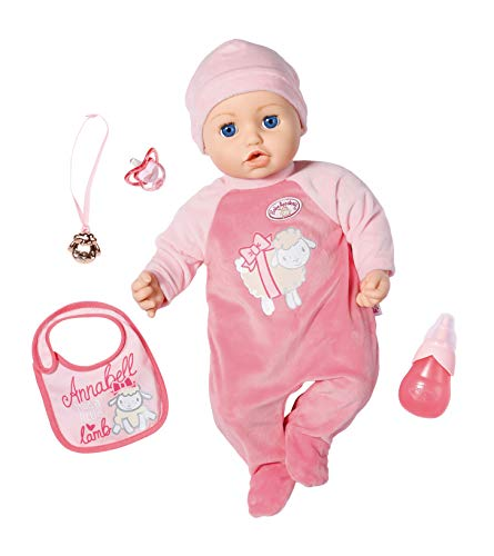 Zapf Creation 794999 Baby Annabell Annabell Puppe 43 cm, rosa