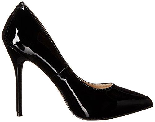 Pleaser Amuse 20- Scarpe con tacco donna Nero (Black (Blk Pat))