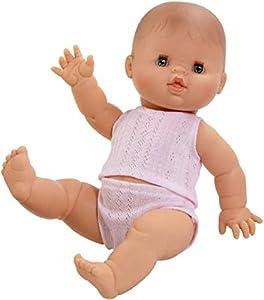 Paola Reina Gordi niña Europea Pijama Rosa 34 cm, 34000