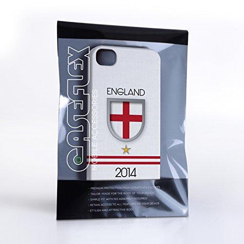 Caseflex Coque iPhone 4 / 4S England Coupe du Monde Dur Housse