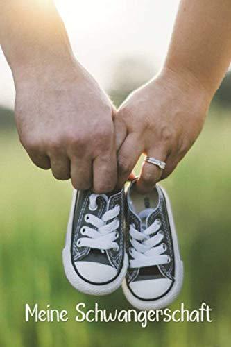 Meine Schwangerschaft: Tagebuch ca DIN A5 weiß liniert über 100 Seiten I Schwanger I Mutter