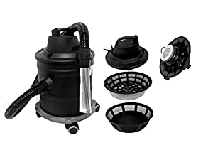 18litre Ash Vacuum Cleaner with Motor and Wheels Capacity 1,200W, 220V