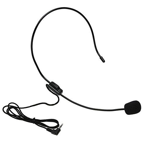 YouN Mikrofon-Headset, leicht, kabelgebunden, Verstärker - Headset Voice Tube