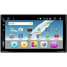 KKXXX S4 Android 7.0 Octa Core 2GB RAM 16GB ROM Estéreo del automóvil Navegación GPS Auto Radio Am/FM / RDS Wi-Fi BT Enlace de Espejo Salida de Video 2 DIN ...