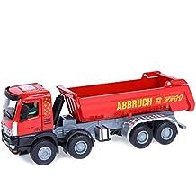 Damara Camión Volquete Camiones De Transporte Juguetes Niños Regalo,Rojo