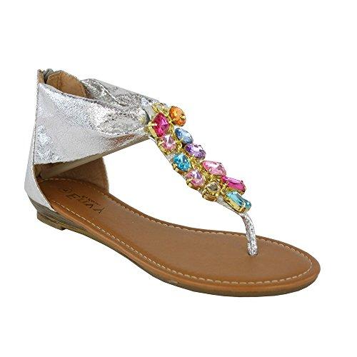 Kick Footwear Kick Footwear, Sandali donna Argento (argento)