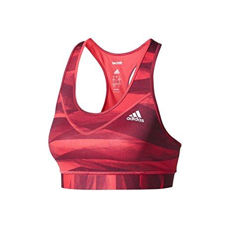 Adidas TF BRA PR2Sport BH, Damen Print/Enepnk/Rednit
