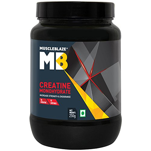 MuscleBlaze Creatine Monohydrate Powder, 250 g