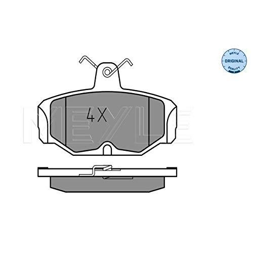Meyle 025 209 8113 Kit de plaquettes de frein, frein à disque