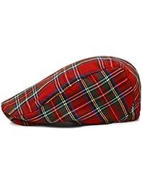 NUBAO Boinas Sombrero A Cuadros Sombrero para El Sol Sombrero para El Sol  Tapa Delantera Gorra 4a27c36fb7b