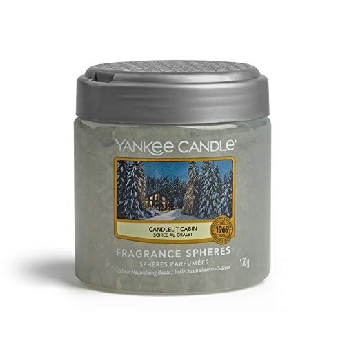 Yankee Candle Fragrance Spheres Lufterfrischer, Candlelit Cabin,