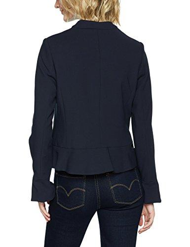 More & More Damen Anzugjacke Blazer Blau (Marine 0375)