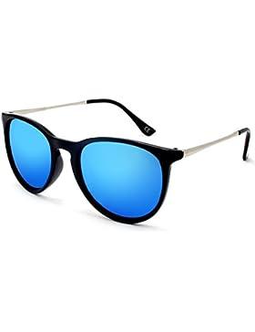 BLEVET Polarized UV400 Gafas de sol Vintage para hombres y mujeres BE001