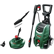 Bosch High Pressure Washer AQT 37-13+ (high-pressure pistol, lance, patio cleaner, water filter, wash brush, nozzle, 6 m hose, 5 m mains cable, cardboard box, 1.700 W, max. flow rate: 370 l/h)