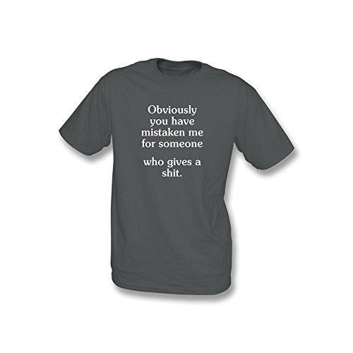 Natürlich haben Sie irrtümlicherweise Me für jemand.... T-Shirt Größe XXL