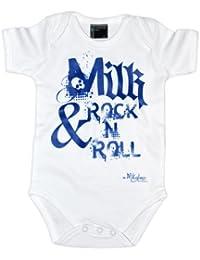 Milk & Rock n Roll Babybody kurzarm