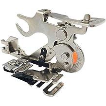 Wefond 1 pieza Ruffler Máquina de coser Accesorio Prensatelas para hermano de vástago bajo, Cantante