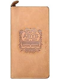 ABYS EID Special Gift-Genuine Leather Women Clutch  Hand Bag  Coin Purse  Card Holder  Passport Holder  Travel... - B07DL9LN6C