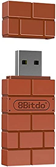 8Bitdo draadloze Bluetooth-adapter voor Windows/Mac/Raspberry Pi / Switch