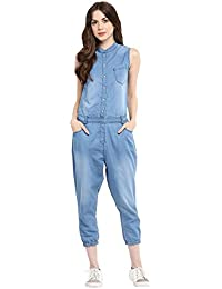 8a33317419f2 Amazon.in  L - Jumpsuits   Dresses   Jumpsuits  Clothing   Accessories