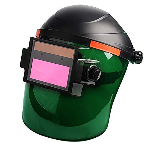 Schweißmaske Schweißhelm Solarbetriebenes Schweißen Automatisches Abdunkeln Gesichtsschutzzubehör Uvioresistente Argon-Lichtbogenschweißbrille
