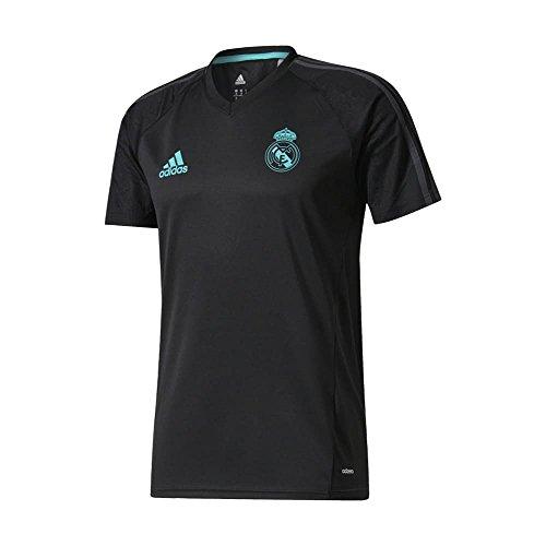 adidas Real Madrid CF Training Youth Jersey [schwarz], schwarz, BQ7922 (Youth-real Madrid Jersey Ronaldo)