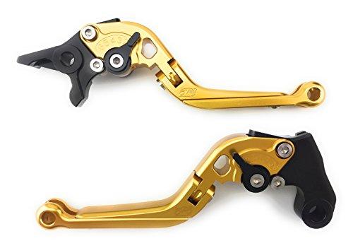 Courts Leviers de frein d/'embrayage pour Suzuki TL1000S DL650 GSR600 SFV650 B