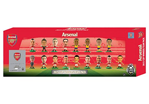 SoccerStarz  Arsenal 2015 FA Cup Winners 17 Player Team Pack