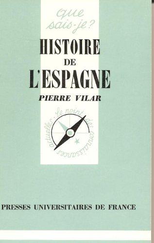 HISTOIRE DE L'ESPAGNE par Pierre Vilar