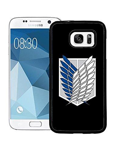 Cool Samsung S7 Hülle Fall-Abdeckung Attack On Titan Logo , Unique Design Anti-Kratzer Durable Hard Back Cover für Samsung Galaxy S7 Attack On Titan Logo Image