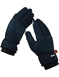 HIVER Men's and Women's Waterproof Teslon Gloves, Winter Gloves, Snow gloves for minus degrees, Mens gloves & Womens gloves