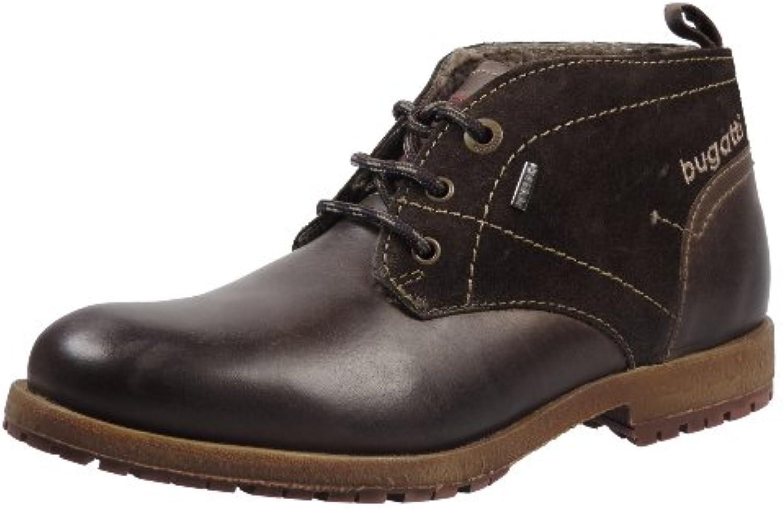 Bugatti Herren Schuhe Stiefeletten Boots Warmfutter Ted tex F4459-13