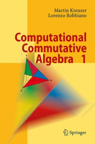 Computational Commutative Algebra 1