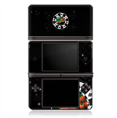 Dsi-chip Nintendo (Nintendo DSi XL Case Skin Sticker aus Vinyl-Folie Aufkleber Poker Chip Herz)