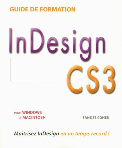 GUIDE FORMATION INDESIGN CS3