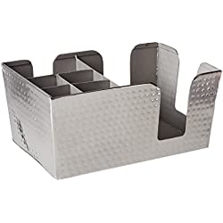Metalcraft americano hmbar8 Bar Caddy, plata