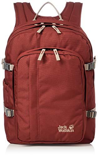 Jack Wolfskin Unisex-Erwachsene Berkeley Jours sac à dos Tagerucksack, Rot (redwood), One Size