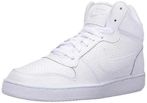 Nike Damen Wmns Court Borough Mid Basketball Turnschuhe, Weiß, 38.5 EU
