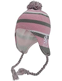 Bonnet thermique style péruvien - Enfant fille