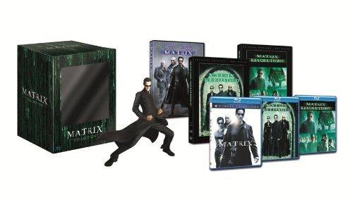 Matrix collection(+ statuetta) (edizione limitata) [Blu-ray] [IT Import]