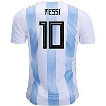 UKSoccershop 2018-19 Argentina Home Shirt (Messi 10) 421519f6e9216