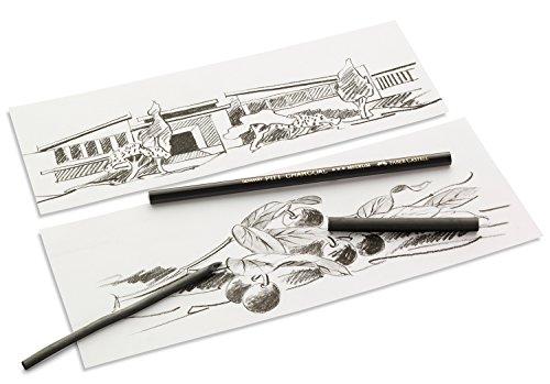 Faber-Castell PITT GRAPHITE PURE 3B 1pieza(s) laápiz de color – Lápiz de color (1 pieza(s), Fijo, Negro, Alrededor)
