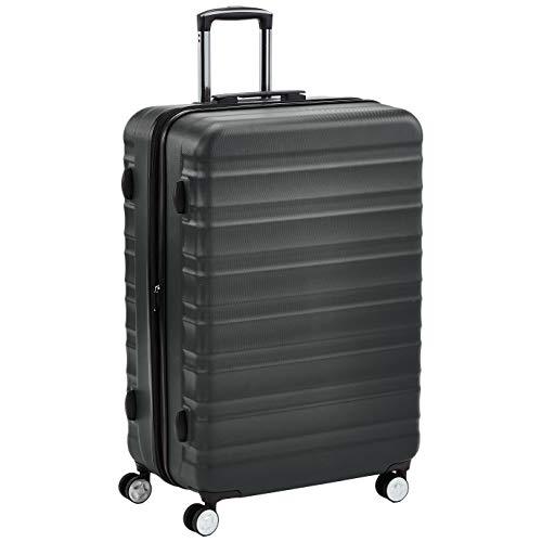 AmazonBasics - Trolley rigido di ottima qualità con rotelle pivotanti, 71 cm, grigio
