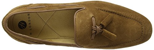 H.D. Hudson Mfg Co. Pierre, Mocassins Homme Marron (Tan)
