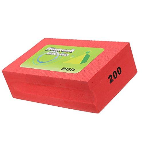 Gazechimp Diamant Handschleifpad Schleifstein, zum schleifen, polieren - 200 Grit