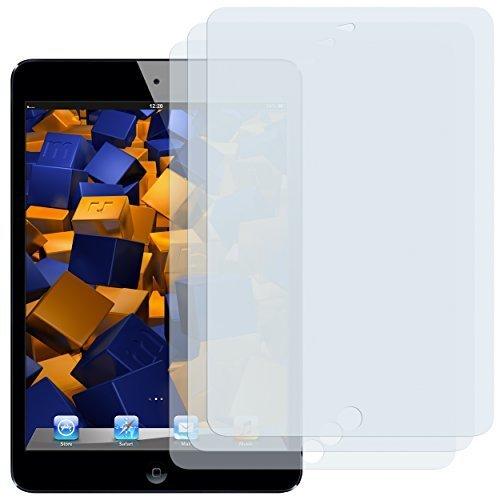 mumbi Schutzfolie kompatibel mit Apple iPad mini Folie, iPad mini 2 Folie klar, Displayschutzfolie (3x)